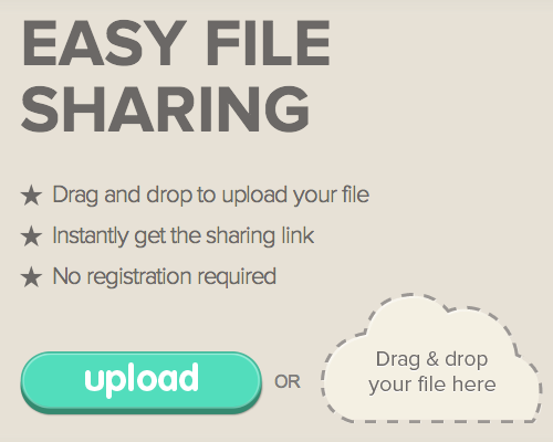upload and share files