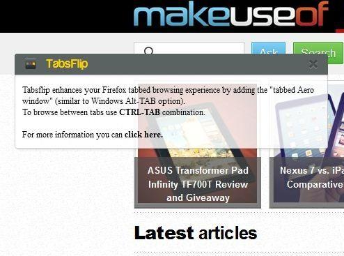 enhance   Tabsflip: Switch Tabs Like Aero Switches Windows [Firefox]