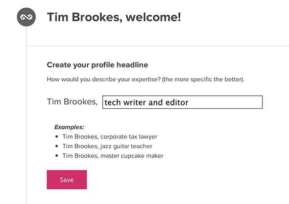 create a single page site