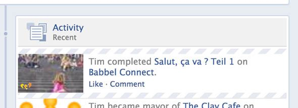 Babbel: An Interactive Tool for Budding Linguists facebook nonsense