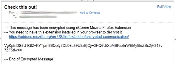firefox encryption plugin,