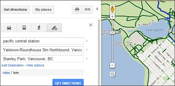 google navigation tips
