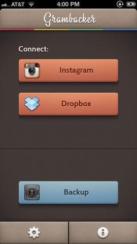 make a backup of your instagram photos