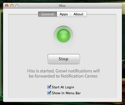 growl notifications mac
