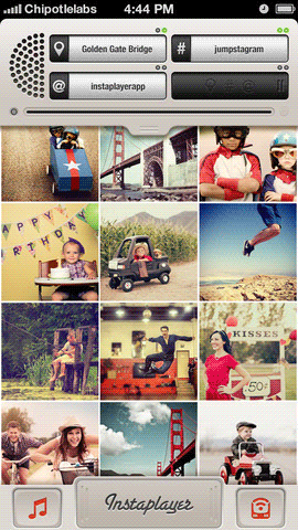 Instaplayer: Turn Your Instagram Feed Into A Polaroid-Like Printer [iOS] instaplayer 1