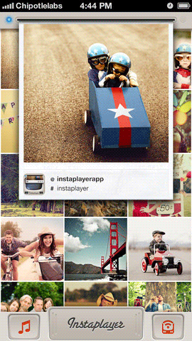 Instaplayer: Turn Your Instagram Feed Into A Polaroid-Like Printer [iOS] instaplayer 2