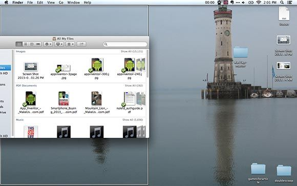 isnap main   iSnap: Brings The Snap Feature From Windows 7 To Macs