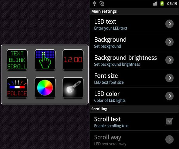 led light fun for android