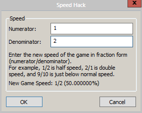 control game speed