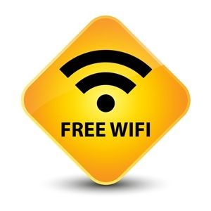 get free wifi anywhere