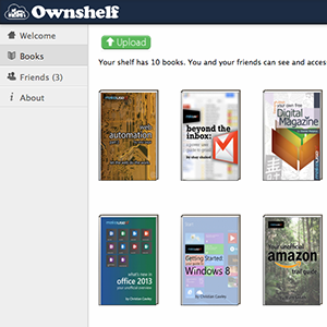 Easily Share Free Books With Your Friends Using Ownshelf