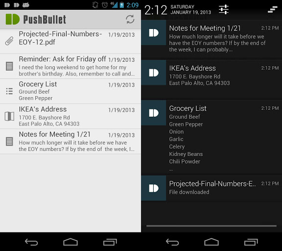 pushbullet2   PushBullet for Android: Push Files & More To Your Android Phone From Your Browser