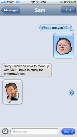real emoticons