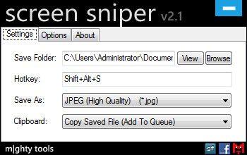screen sniper   Screen Sniper: A Handy Screenshot Utility [Windows]