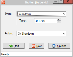 windows auto shutdown