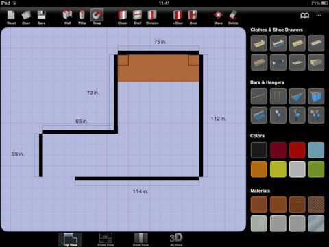 sketch arm   Sketch Arm: Design Your Closet On Your iPad & View The Results In 3D [iOS]