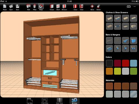 sketch arm1   Sketch Arm: Design Your Closet On Your iPad & View The Results In 3D [iOS]