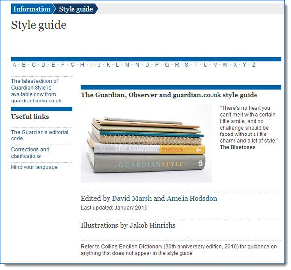 Writing For the Digital Age: 5 Free Writing Style Guides Online style guide 03