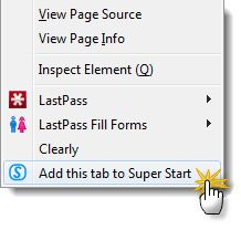 Super Start Your Day With Visual Bookmarks And A Simple To-Do List [Firefox] super start05
