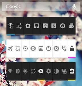 toggle widgets for android