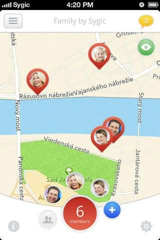 sygic family   Family by Sygic: Know Where Your Family Members Are At All Times [iOS & Android]