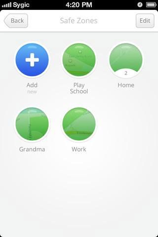 sygic family1   Family by Sygic: Know Where Your Family Members Are At All Times [iOS & Android]