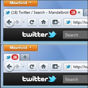 Tell The Number Of Unread Emails At A Glance With Tab Badges For Firefox