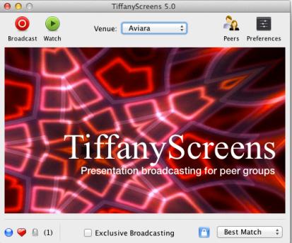 tiffanyscreens2   TiffanyScreens: Easy To Use, Cross Platform Screen Sharing [Mac, Windows, Linux]