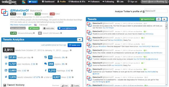 twitonomy   Twitonomy: Get In Depth Stats About Tweets & Twitter Users