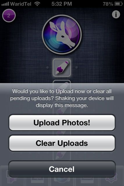 uploadphotos   Autosnap: Have Pictures Automatically Taken & Uploaded Through Your iOS Device
