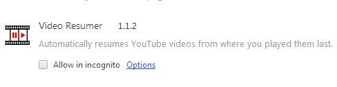 resume youtube videos