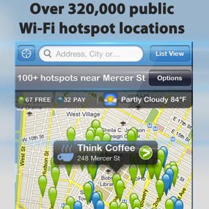 Wi-Fi Finder Helps You Find Wi-Fi Hotspots Anywhere In The World [iOS]