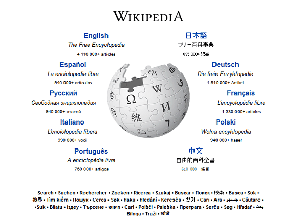 7 Most Important Websites We Can't Live Without wikipedia homepage