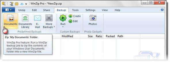 WinZip 17 Pro for Windows: Redesigned for Social Sharing and the Cloud [Giveaway] winzip05