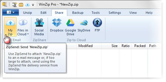 WinZip 17 Pro for Windows: Redesigned for Social Sharing and the Cloud [Giveaway] winzip06
