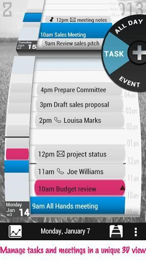 view google calendar on android