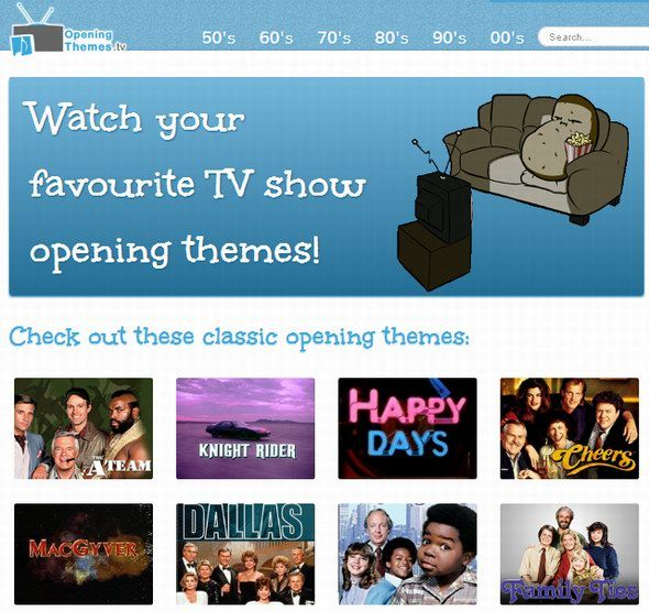 opening themes tv shows