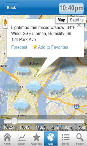 real time weather app