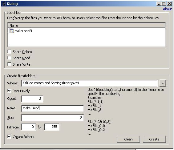create multiple folders