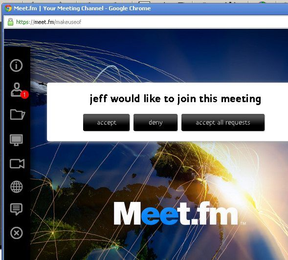 set up meeting online