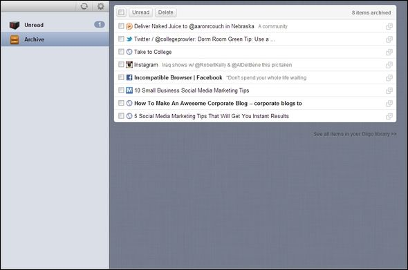 9 Tools to Save What You Read on the Web for Later Diigo Read Later Fast