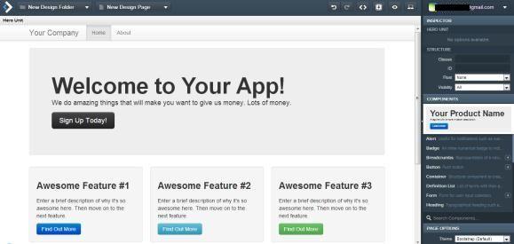 interface builder html5