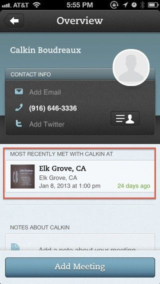 adding contacts on iphone