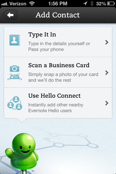 add iphone contacts