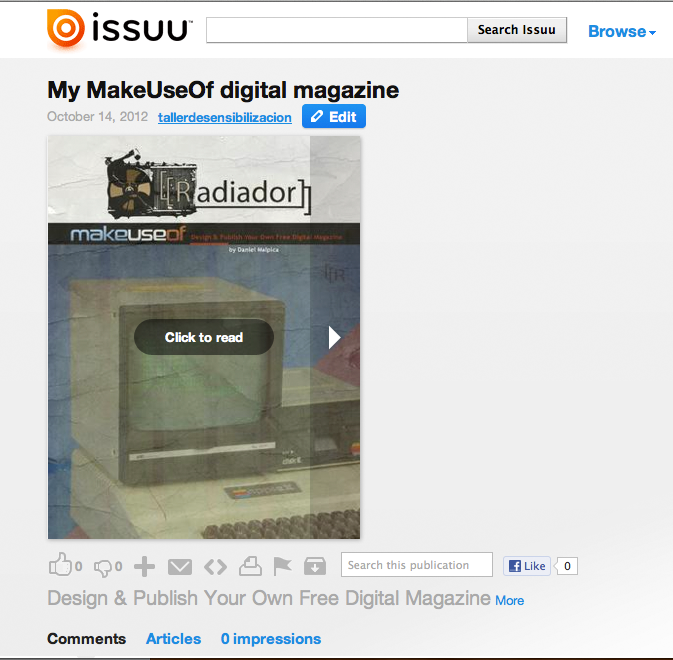publish digital magazines online