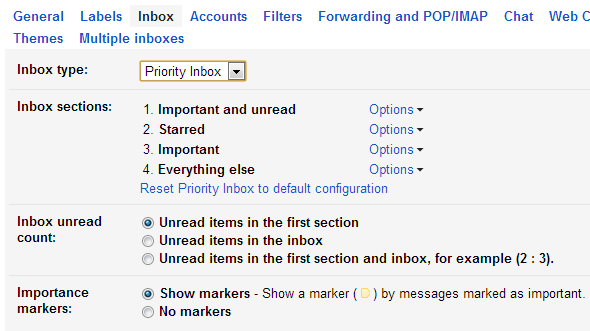 inbox prioritization