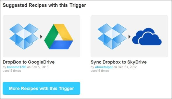 Double The Cloud Power: How To Sync Files Across Storage Services IFTTT Suggested Recipes