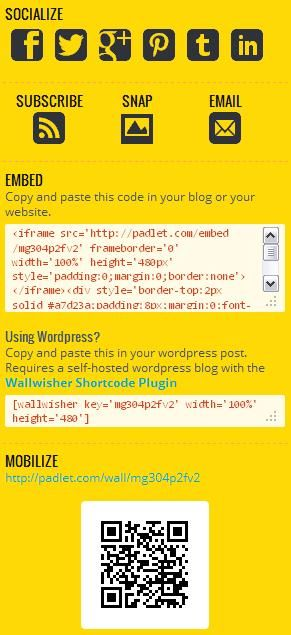 Padlet1   Padlet: A Platform To Create Drag And Drop Sharing & Blogging Websites