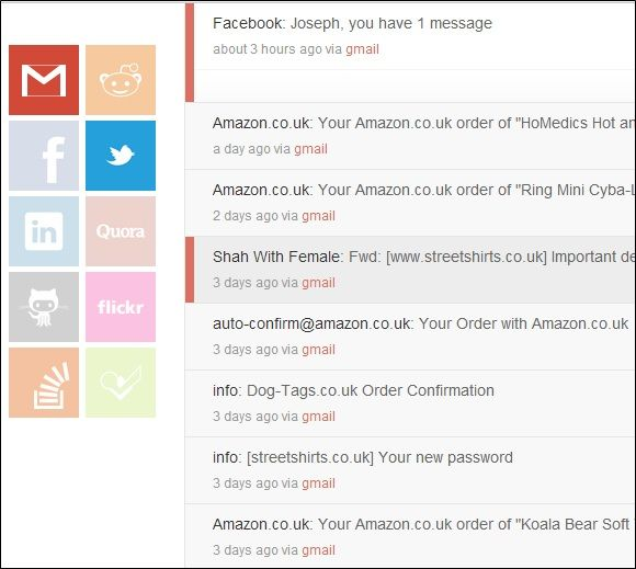 Pass   Chime: Get Notifications From Popular Web Services In a Single Place [Chrome]