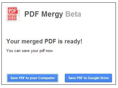 Pdf   PDF Mergy: Merge Your PDF Documents Together [Chrome]